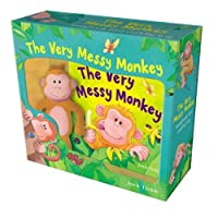 The Very Messy Monkey: Storybook and Cuddly Toy
