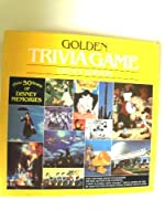 Disney Edition Golden Trivia Game 1984