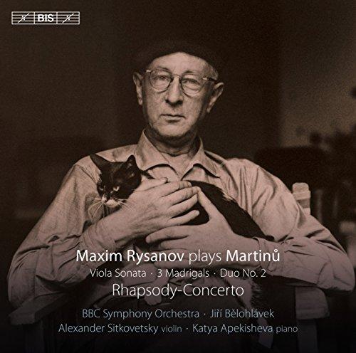 Martinu: Maxim Rysanov Plays M