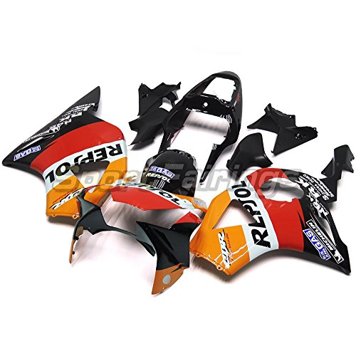 Sportfairings オートバイ バイク外装パーツ 適合 ホンダ Honda CBR900RR CBR900 RR 954 2002 2003 年 オレンジと赤と黒 フェアリング