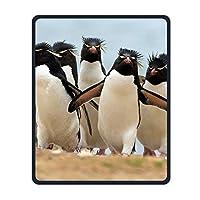 マウスパッド ペンギン 動物 光学式マウス対応 おしゃれ 滑り止め 防水 耐洗い表面 オフィス用 家庭用 30*25CM
