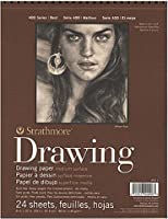 Strathmore 400シリーズ図面用紙パッド( 8x 10in。)2個SKU # 1826640MA