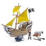 パイレーツ オブ カリビアン 最後の海賊 3インチ アクションフィギュア プレイセット : ジャックズ パイレーツ シップ