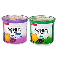 Lotte Herb/quince and Blueberry Throat Candy 5.22oz (Pack of 2)