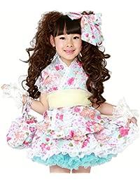 6ee3ecdebeb79 Amazon.co.jp  110 - 着物・浴衣   ガールズ  服&ファッション小物