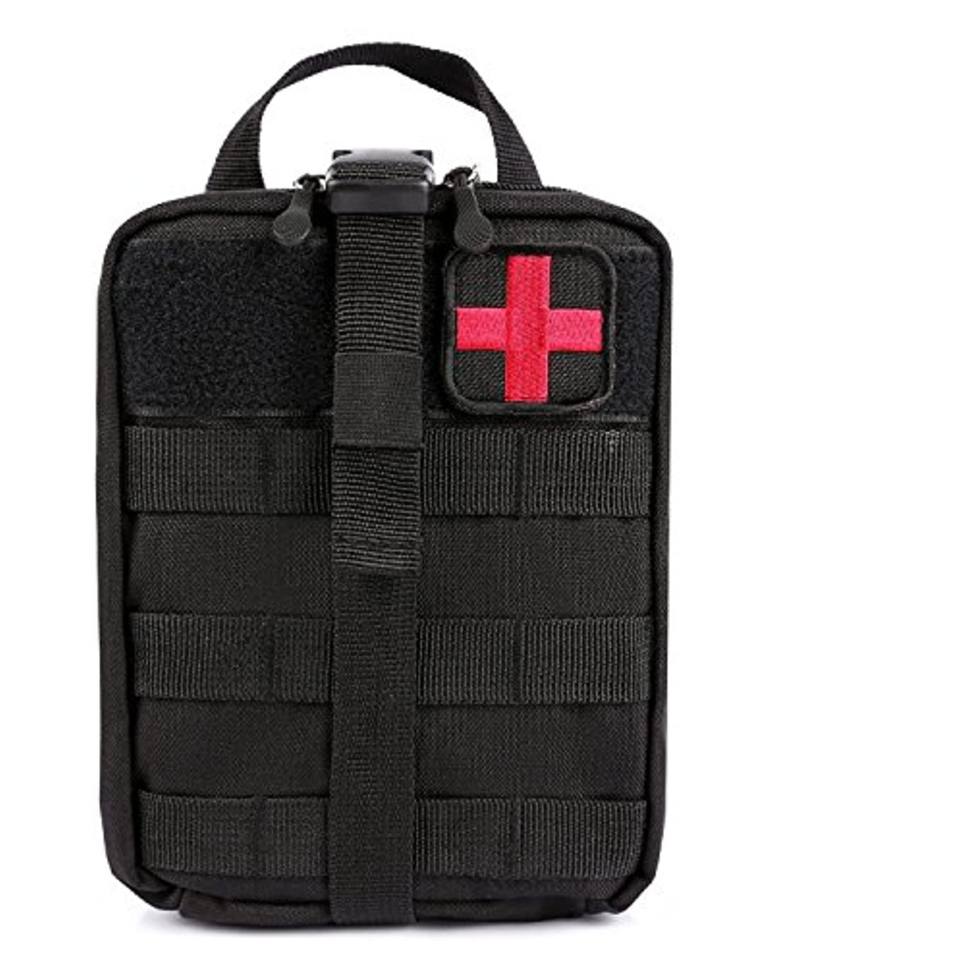 滅びる同種のかどうかMosie 医療ポーチ - 戦術MOLLEイパックEMTユーティリティバッグ、応急処置パッチとせん断リップアウェイ医療応急処置キットユーティリティバッグ1000Dナイロン