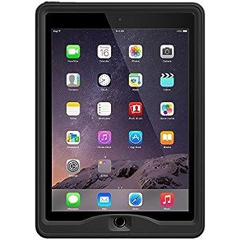 【日本正規代理店品・保証付】LifeProof 防水 防塵 耐衝撃ケース nuud for iPad Air 2 Black 77-50774