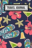 Travel Journal: Travel Journal / Notebook | Trip Diary | Beach Design | 109 Pages (6x9)