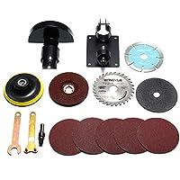 DADANGSH アングルグラインダー用15pcsアクセサリー標準カッティングシートと保護カバー DIYツール