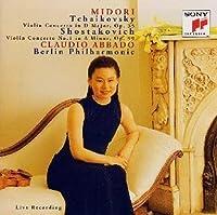 チャイコフスキー : ヴァイオリン協奏曲ニ長調、ショスタコーヴィチ / ヴァイオリン協奏曲第1番