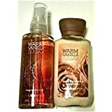 Bath & Body Works warm vanilla sugar body cream, fragrance mist ワームバニラシュガー、ボディークリーム&ミスト [海外直送品]