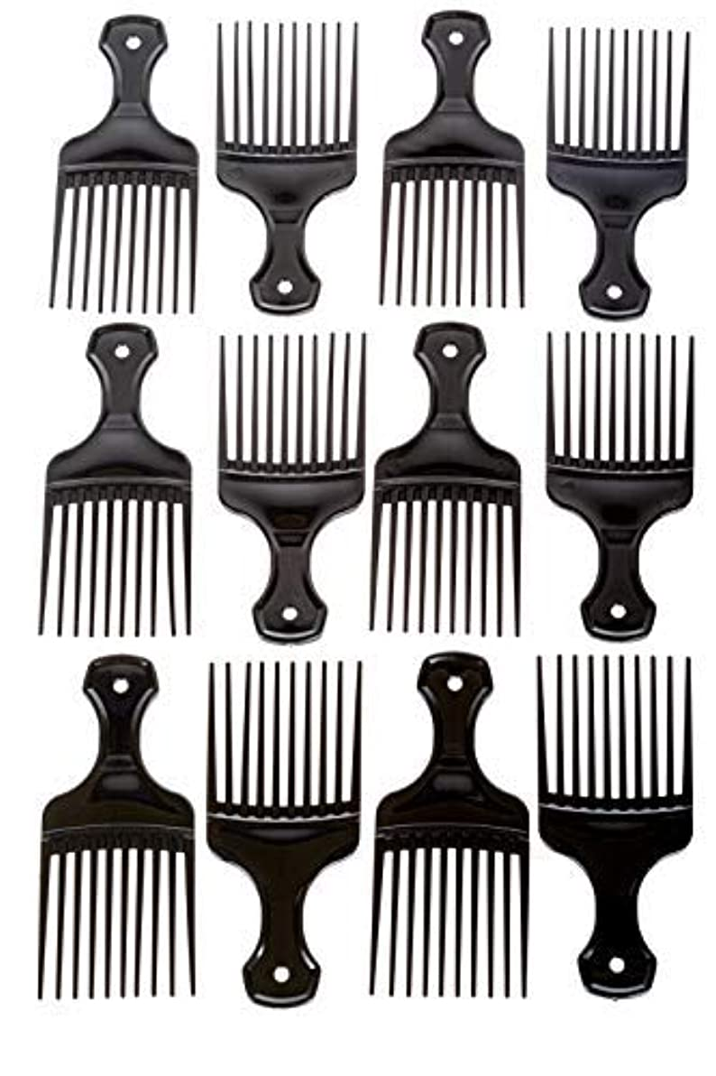 オーバーコートナビゲーション宇宙のAfro Hair Pics (Bulk 100pk) 5.25