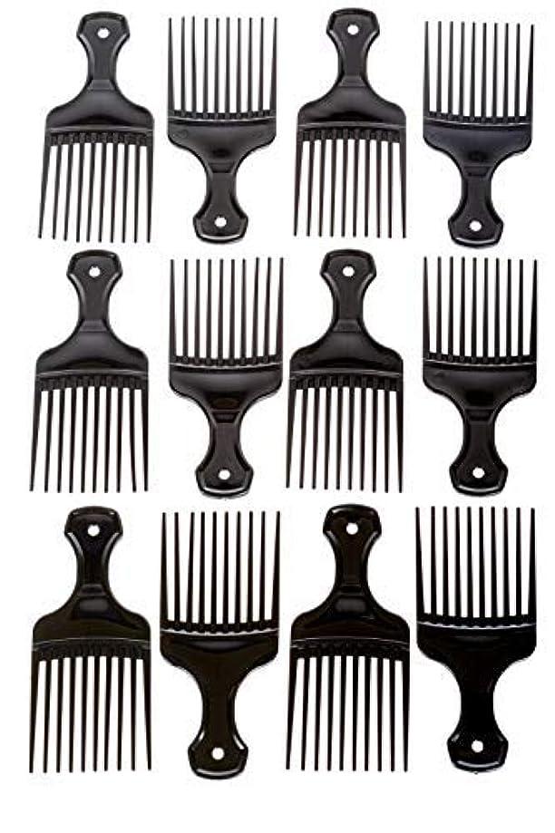 ミッションレモンチチカカ湖Afro Hair Pics (Bulk 100pk) 5.25