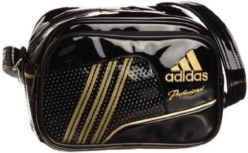 [アディダス] adidas adidas ProfessionalエナメルショルダーS DO298 Z53780 (ブラック/メタリックゴールド)