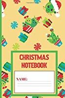 Christmas Notebook: Christmas gifts for women,men,mom,dad, and teenage girls: cute Golden Glow color design blank Lined notebook/Journal to write in.