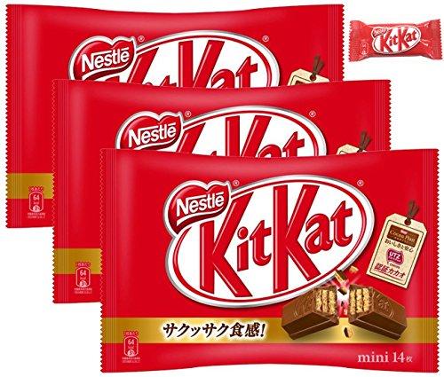 ネスレ日本 キットカット ミニ 14枚×3袋 ※おまけ付