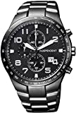 [シチズン]CITIZEN 腕時計 INDEPENDENT インディペンデント Timeless Line Chronograph BA5-546-51 メンズ