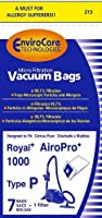 Royal AiroPro Type P Vacuum Bags 7 Pack + 1 Filter by Envirocare 【Creative Arts】 [並行輸入品]