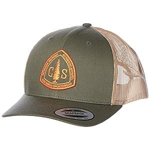 [コロンビア]Columbia Mesh Snap Back Hat CU9186 Cypress, CSC Patch US F (FREE サイズ) [並行輸入品]