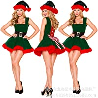 HIKARI クリスマス コスチューム コスプレ 衣装 仮装 クリスマスツリー キャンディ ワンピース ワンピ サンタクローズ トナカイ サンタコス
