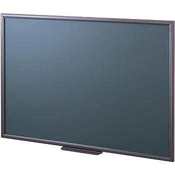 ナカバヤシ 木製 黒板 大 900x600mm ブラック WCF-9060D