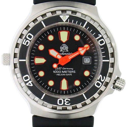[トーチマイスター1937]Tauchmeister1937 腕時計 ドイツ製1000m防水ダイバー ヘリウムリリースバルブ登載T0078(並行輸入品)