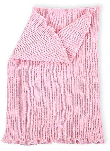 (マモーレ) Mamo-Re ふわっとロング 腹巻 女性鍼灸師が素材から企画・開発 シルクとコットンの混紡で冷えから大切な身体を守るあったか 腹巻き (ピンク)