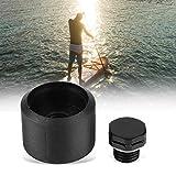 サーフィンベントスタンドアップパドルプラスチックサーフボードエアベントSUPオートエアベント排気バルブ&Oリング部品ギアアクセサリー 黒3 * 2.2センチ 画像
