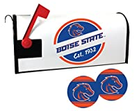 ボイジー州立ブロンコス磁気メールボックスカバーとステッカーセット
