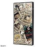 iPhone XR ケース/ワンピース/【 耐衝撃 衝撃吸収 強い タフ 】 ガラスケース 【 ストラップ ホール 付き 】 /海賊旗マーク