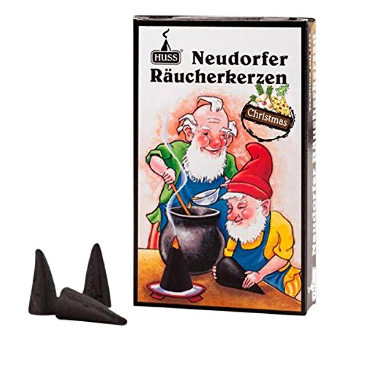 メタリック突き出す疲れたHuss Incense Cones for German Incense Smoker – クリスマス香り – 環境にやさしいドイツのハンドメイド