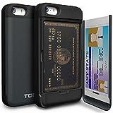 iPhone5/5S/SE ケース TORU 手帳型 ミラースタンド 保護 カバー メタルスレート