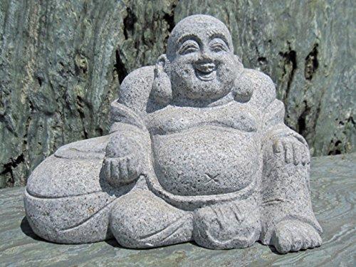 布袋 七福神 サクラ御影石 彫刻 仏像 石仏