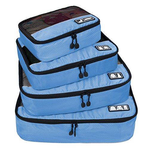 (バッグ・マート) Bags-mart トラベルポーチ 4点セット ワイシャツ出張ケース オーガナイザー パッキングキューブ 出張 旅行 整理整頓 プレゼント クリスマス ギフト
