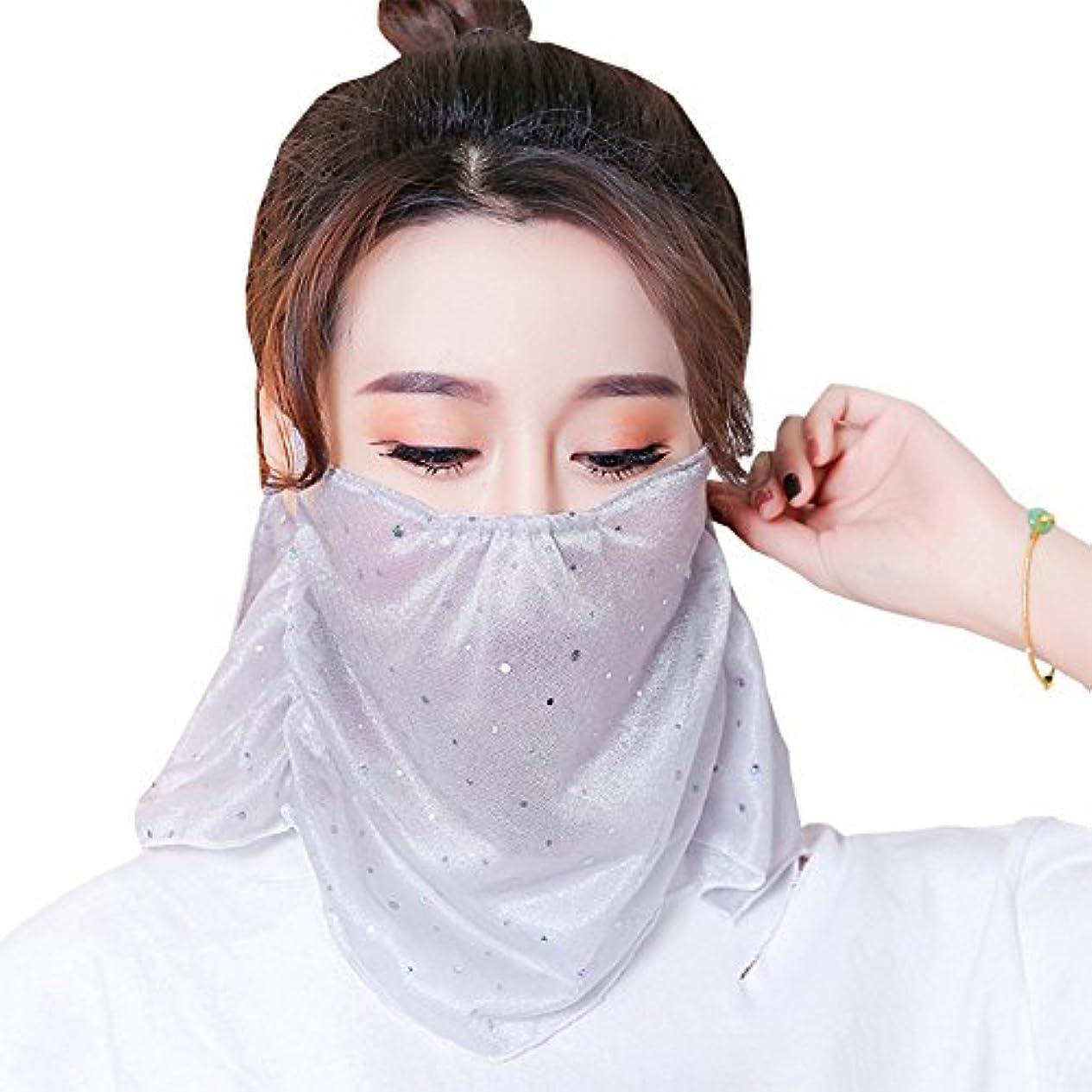 ソフィー印象的熟練したLeecd フェイスカバー ネックガード フェイスマスク UVカット98% UPF50+ イヤーフック付き 鼻部分開口で呼吸しやすい 息苦しくない 冷感 日焼け防止