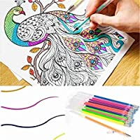 Marker Set WaterColor Painting Pen Core Marker For Kids Art Supplies School Washable Christmas Gifts 24/48 Colors Refill (24)