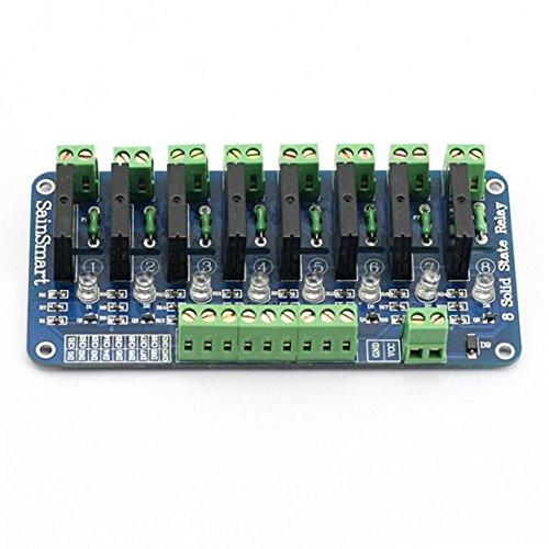 サインスマート(SainSmart) 8チャンネル 5V ソリッドステート リレーモジュール ボード for Arduino Uno Duemilanove MEGA2560 MEGA1280 ARM DSP PIC