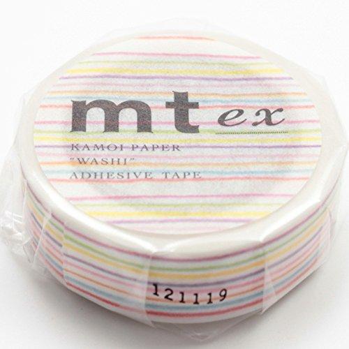 mt ex 15mm×10m MTEX1P78 [色えんぴつ・ボーダー]
