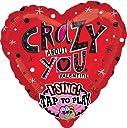 29インチsing-a-tune Valentine Crazy About Youバルーン–5個