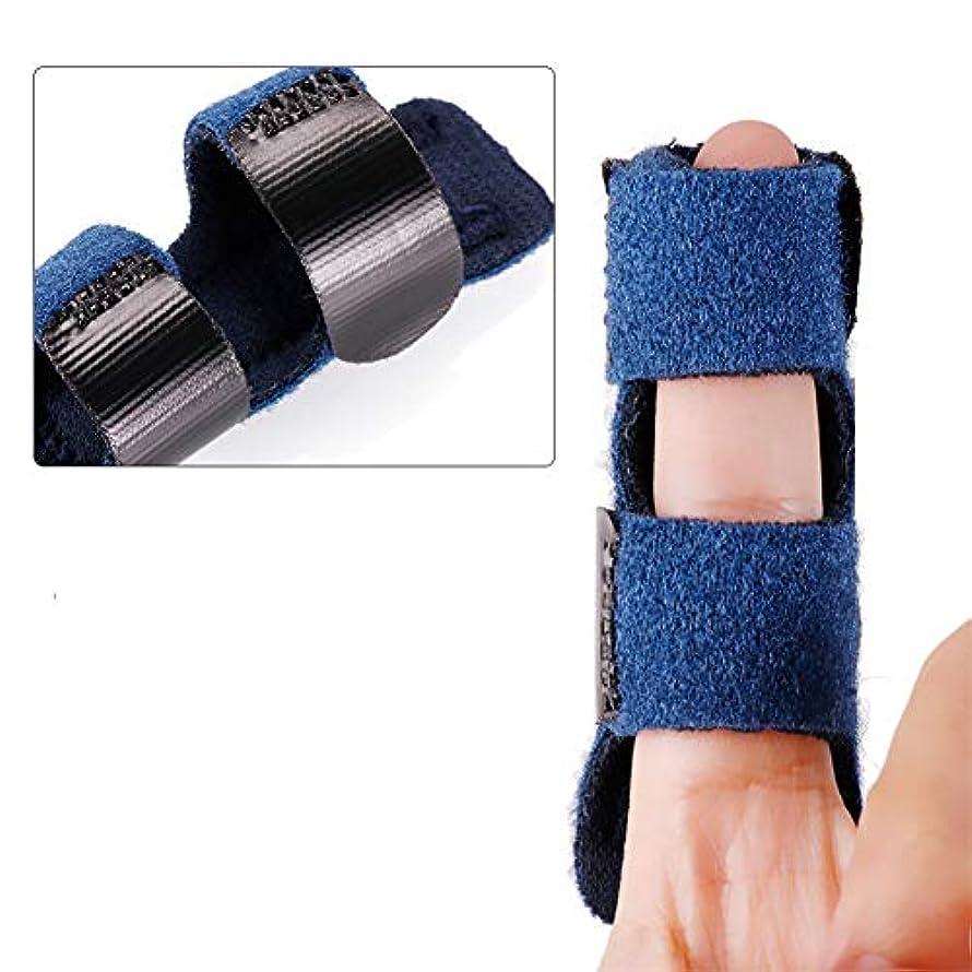 アンケート課す効能指サポーター ばね指サポーター バネ指 腱鞘炎 指保護 固定 調整自在 左右兼用 フリーサイズ