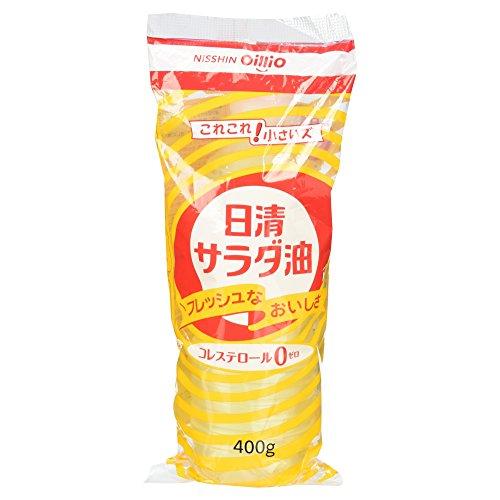 日清オイリオ サラダ油 400g