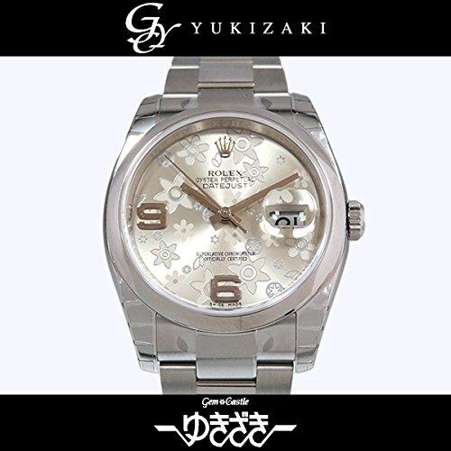 ロレックス デイトジャスト 116200 シルバーフラワー メンズ 腕時計 [並行輸入品]