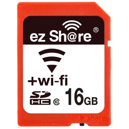 LZeal Information Technology Ezshare『16GB SDHCカード SDカード Wi-Fi機能搭載』