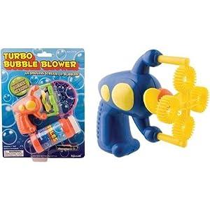 Toysmith トイスミス Many Bubbles Mini Ray Gun (Colors may vary) フィギュア ダイキャスト 人形(並行輸入)