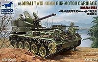Bronco モデル 1/35 US M19A1 ツイン 40mm ガンモーター キャリッジ 韓国戦争 CB35148