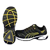 PUMA SAFETY プーマセーフティスニーカー Fuse Motion Yellow(イエロー) Men Low 26.5cm