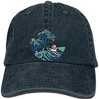 DGYTH Hip hop Baseball caps Printed Men hat Women Cap Ponyo and The Great Wave