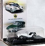 京商 ロータス ミニカーコレクション 単品 1/64 サークルK サンクス 限定 Lotus セブン 7 Seven ホワイト