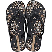 IPANEMA Women's Floral Fashion- Black