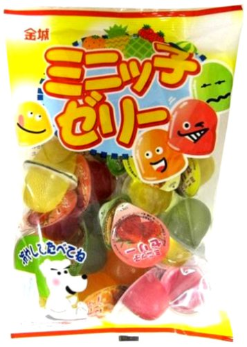 金城製菓 24個入 ミニッ子ゼリー 24個×12袋